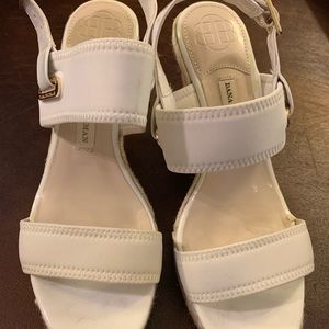 Dana Buchman Shoes - 20%OFF🎈White sandals : size 7 1/2
